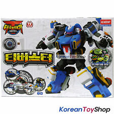 T-Buster Transformer Robot Toy T-Fighter T-Drill T-Tank T-Drone T-Beetle Academy