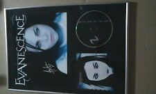 EVANESCENCE  Amy Lee Hand signed Fallen CD Frame Proof