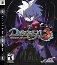 Disgaea 3 Absence of Justice NEW factory sealed Sony Playstation 3 PS3