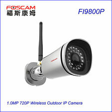 Foscam FI9800P 1.0MP Waterproof 720P P2P Wireless CCTV Surveillance IP Cameras