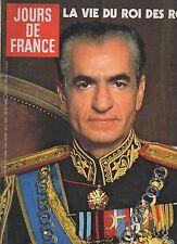 jours de france n° 1335 sophia loren le shah d'iran 1980