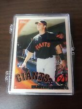 BUSTER POSEY 2010 TOPPS ( FIRST FACTORY ROOKIE ) CARD #2 SAN FRANCISCO GIANTS