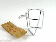 T.A. water bottle cage Handlebar mount w/ clamps REF: 213 TA Vintage Bicycle NOS