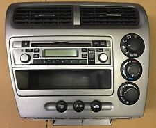 HONDA CIVIC 1.6  SPORT TYPE S EP3 DASH HEATER CONTROL STEREO SURROUND CD PLAYER