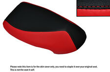 Negro Y Rojo Custom encaja CPI GTR 50 06-09 Frontal De Cuero Funda De Asiento Solo