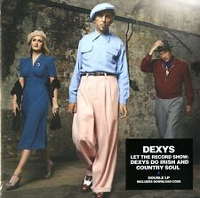 DEXYS LET THE RECORD SHOW: DEXYS DO IRISH AND COUNTRY SO DOPPIO VINILE LP NUOVO