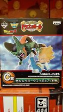 DRAGON BALL Z WCF ICHIBAN KUJI C VEGETA VS CELL FIGURA NUEVA NEW FIGURE
