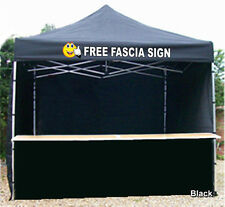 MOBILE CATERING TRAILER GAZEBO HEAVY DUTY PRINTED RED BLACK ORANGE PURPLE GREEN