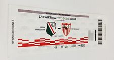 used ticket LEGIA Warsaw - SEVILLA FC 17.04.2012