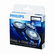 Genuine Philips Shaver heads HQ8/50 Dual Precision (2 years) SEALED