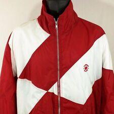Converse All Star Chuck Taylor Windbreaker Jacket Vtg Full Zip USA Made Mens XL