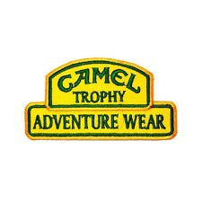 Camel Trophy Jeep Land Rover  Adventure Wear Embroidered Vest Cap Iron on Patch