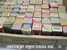 6AU6/6AU6A Vacuum Tubes - Various Brands - USA - $2.00/ea (TESTED & GUARANTEED!)