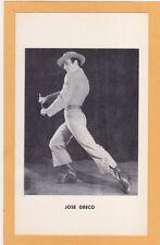 Advertising Card - Jose Greco Flamenco Dancer Advance Theatical Shoe Co Chicago