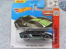 Hot Wheels 2015 #178/250 FORD SHELBY GR-1 CONCEPT black Case M