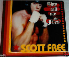 Rare SCOTT FREE They Call Me Mr. Free Punk Rock Music CD In Slightly Used Shape