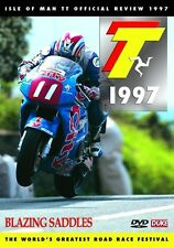 Isle of Man TT - Official Review 1997 (New DVD) Blazing Saddles