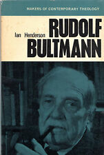 "IAN HENDERSON - ""RUDOLF BULTMANN"" - MAKERS OF CONTEMPORARY THEOLOGY SERIES(1965)"