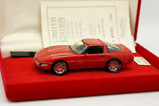 Detail cars 1/43 - Chevrolet Corvette ZR1 Rouge