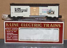 K-Line K-910004 Hobby King SuperStore #4 Brooklyn NY Boxcar MIB O/O-27 Scale