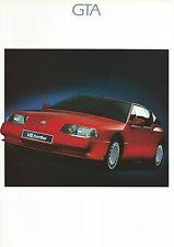 RENAULT GTA v6 & v6 Turbo Opuscolo UK 1989 26 pagine eccellenti-ottime condizioni