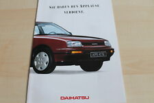 122235) Daihatsu Applause Prospekt 01/1989