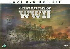 GREAT BATTLES OF Ww11 - 4 DVD BOX SET - BLITZKRIEG STALINGRAD BERLIN World War 2