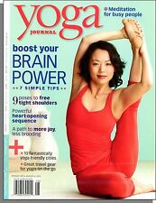 Yoga Journal - 2011, August - Boost Your Brain Power, Free Your Tight Shoulders