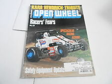 JAN 1992 OPEN WHEEL vintage car racing magazine