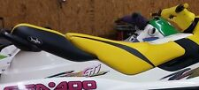 Seadoo 1996-99 GTX 1997-2000 GTI Seat Cover Blacktip Custom Cut YELLOW BLACK