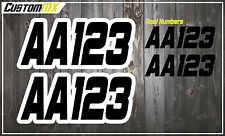 Autograss Race Numbers Signs Decals Graphics Stickers, NASA Regulations