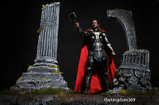 Hot Toys THOR figure + Custom Diorama Base ( One of a kind ), Nt Sideshow Statue