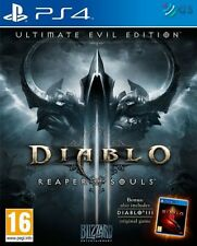 DIABLO III 3 Mietitore di Anime ULTIMATE EVIL EDITION PS4 * NUOVO SIGILLATO PAL *