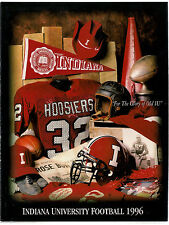 Old 1996 Indiana University Football Media Guide Yearbook! WOW