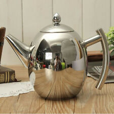 1500ML Kitchen Stainless Steel Teapot Coffee Pot Olive Pot Cold Kettle Strainer