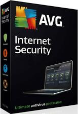 AVG Internet Security 2016 - 3 PCs or Laptops & for 1 year - OFFICIAL DOWNLOAD