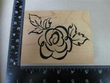 PSX K-2227 Large Cabbage Rose Flower rubber stamp USA K2227 rubber stamp 1997