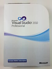 MS Visual Studio 2010 PROFESSIONAL PRO INGLESE ENGLISH DVD c5e-00521