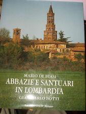 ABBAZIE E SANTUARI IN LOMBARDIA  DE BIASI BOTTI CELIP MILANO 2002