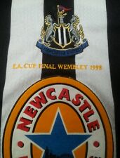 RARE Adidas NEWCASTLE UTD #98 F A CUP Home 1998 Football Shirt - L *VGC**