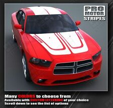 Dodge Charger Complete Racing Stripe Kit Hood, Roof and Trunk 2011 2012 2013 Pro