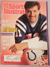 1990 SPORTS ILLUSTRATED JEFF GEORGE COLTS