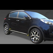 Chrome Side under line Protector Guards for Kia All New Sportage QL 2017+