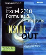 FAST SHIP - BOCK 1e Microsoft® Excel® 2010 Formulas and Functions Inside Out R04