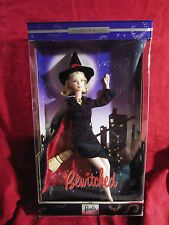 """Barbie Collector """"Bewitched"""" Doll NIB Samantha Stevens TV Witch Mackie Face"""