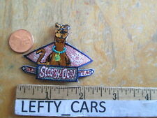 SCOOBY-DOO SKI TEAM EMBROIDERED VERY SMALL CLOTH PATCH - STOCK#1
