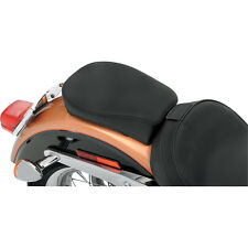 Smooth Wide Pillion Pad for 06-14 Harley Dyna Glides w/ Solo Seat