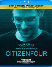 Citizenfour (Blu-ray Disc, 2015) NEW!