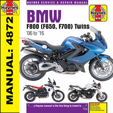 BMW F650 F700 F800 F800S F800ST F800GS F800R 2006-2016 Haynes Manual 4872 NEW