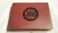 RARE THE SECRET OF MENTAL MAGIC WILLIAM ATKINSON 1ST EDITION 1907 VG. FLASH SALE